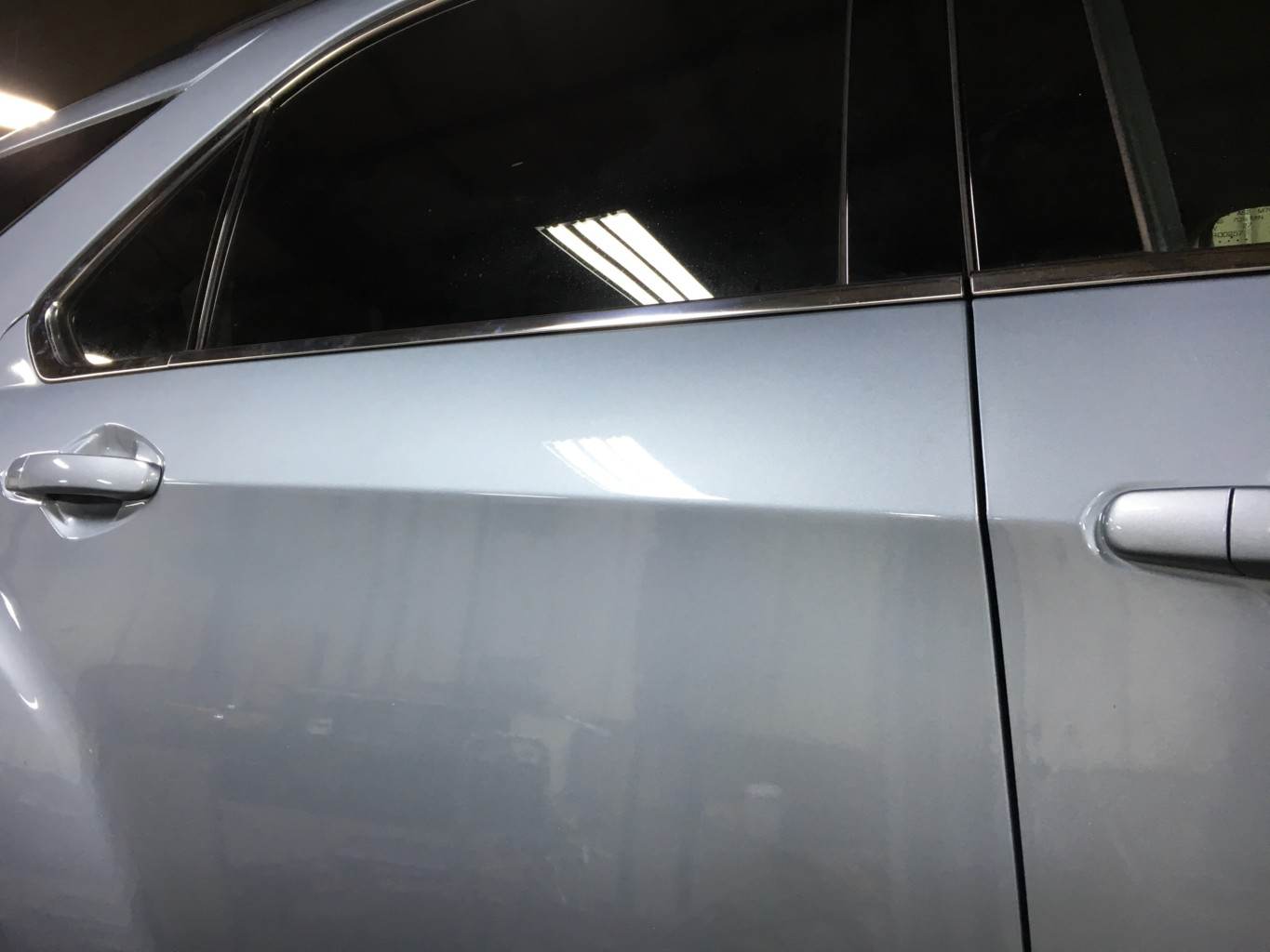 Paintless Dent Repair Grand Rapids, Michigan: Equinox door - after