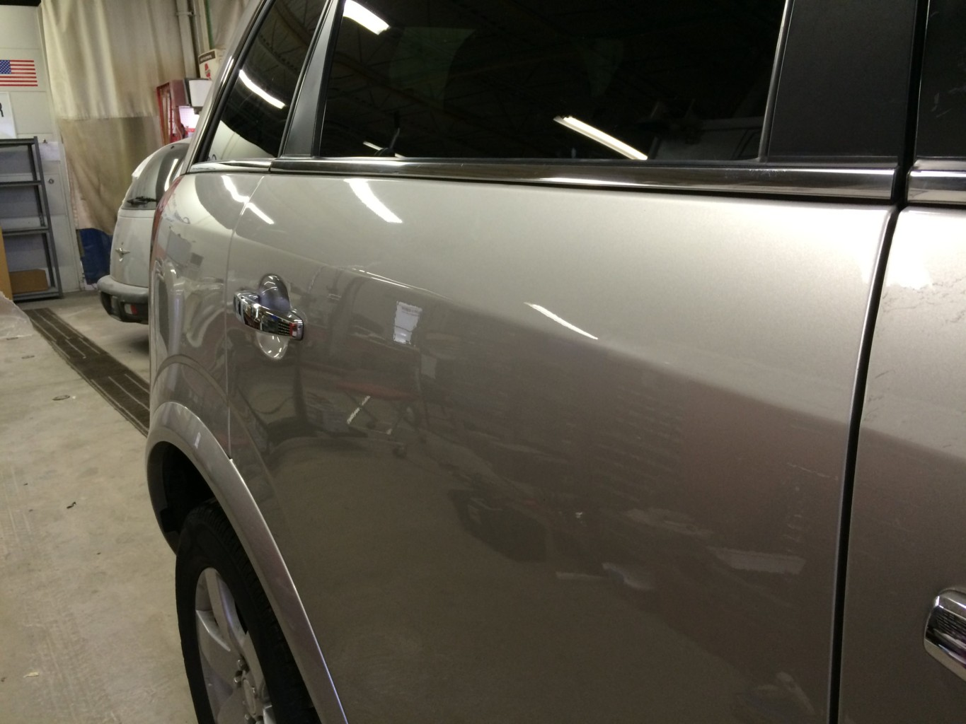 Paintless Dent Repair Grand Rapids, Michigan: Vue door - after